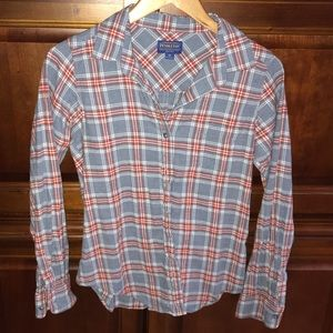 Pendleton Plaid Flannel Button Down Shirt